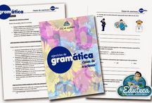 """Cuadernos """"La Eduteca"""" / Cuadernos de gramática, ortografía y destrezas de matemáticas editados por """"La Eduteca"""" para el repaso fundamental de los conceptos en Primaria."""