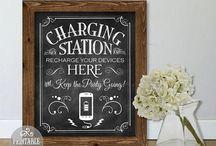 charging box / pudełka z ładowarką