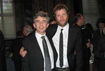 Il Presidente Orlandi insieme a Jovanotti / Roma, Luglio 2009