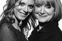 "Celebrity Mother's Day / A new art exhibition at a London Gallery entitled ""Mum: A Snapshot"" was unveiled just in time for Mother's Day - photographs were shot by iconic photographer Terry O'Neill.  / by Amoralia Nursing Lingerie"