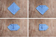 ways to fold serviettes