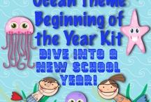 Ocean/ Beach classroom theme! / by Ali Charen