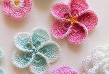 Crochet. Fleurs