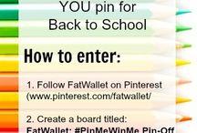 FatWallet: #PinMeWinMe Pin-Off / #PinMeWinMe / by Dana Rodriguez