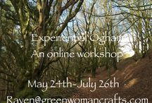 Classes, Workshops and Events / I teach Pagan workshops, classes and camps all around the world and on the internet right in your living room!