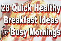 Easy healthy breakfasts