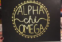 Alpha Chi Omega / by Andie Gale