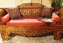 Furniture Ideas / A collection of exotic furniture I'd like to see in my home or on my patio.