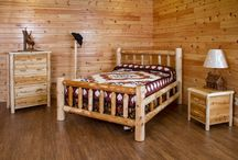 Amish Made Rustic Bedroom Decor