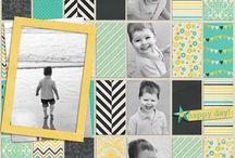 Scrapbooking - 5+ photo layouts