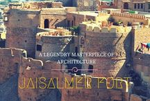 Jaisalmer Fort / About Jaisalmer Fort & It's Architecture & historical value.