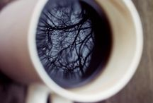 from above / Coffee, from above