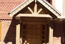Porch Ideas / Bespoke Entrance porches