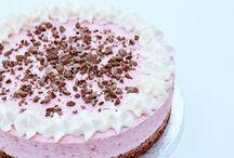Kager / Cupcake - hindbær