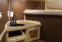 Horse Trailer Ideas / conversions and add-ons / by Michelle Childress