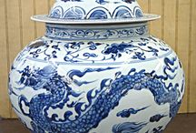 Ginger Jars / Blue and White, chinoiserie, porcelaine, collectibles