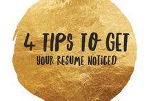 Job Search Tips / Job Search Tips