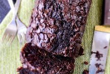 chocolate and yoghurt zucchini bread