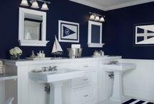 Cloakroom / Navy blue