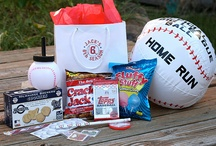 Baseball birthday party ideas / by Laurie Jones