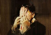 Disturbia / Dark places | On peut disparaître ici / by Angela Henderson