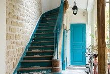 stairs/stairs wells/hallways / by Kathleen De Simone