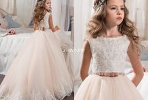 Kids bridesmaides dress
