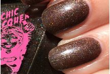 SuperChic Lacquer / All swatches from Model City Polish Blog