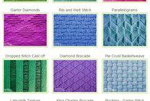 Knitting, Crochet & Quilling
