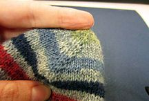 Sock knitting patterns / sock knitting, knitted sock patterns
