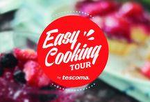 Easy Cooking Tour / Cocina y diversión en un mismo evento. Tescoma te ofrece un evento único en el que aprenderás y disfrutarás de la gastronomía de la mano de los mejores chefs de España.