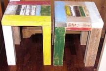 slopphouten meubels