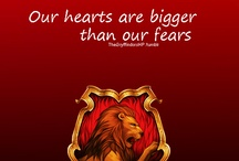 Gryffindor / My pottermore house where the brave dwell at heart