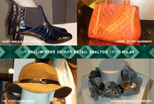 FALL/WINTER 2014/15 RETAIL ANALYSIS FROM MILAN / Our Fall/Winter 2014/15 Retail Analysis from Milan is now available!  Subscribe to Colour & Trends today!  http://www.colourandtrends.com/