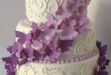Wedding Cake Papillons Cakedreams