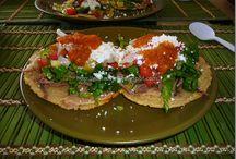 antojitos mexicanos y salsas