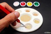 Watercolours tutorials