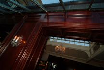 Hand & Flower Pub In Chelsea London and panelling / Our oak veneer panelling is here ! : ))