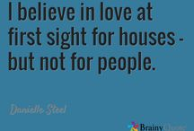 House Quotes / Great quotes about house and home.