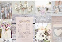 Lavender and Silver Wedding Palette