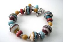 Lampwork, fused glass jewelry