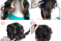 Peinados cabello largo / Peinados