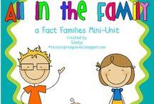 Math- Fact Families