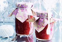 jam, jelly's pickles etc