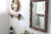 Bathroom Updates / Bathroom decorating and styles