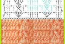 vzory - háčkování