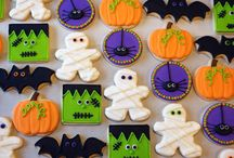 halloween cookies decorated