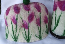 Felting Tea Cozies