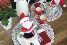 Natal ♥ Decoração e ideias! / Que tal se inspirar para curtir o Natal de forma ainda mias especial? Neste pasta você encontra muitas sugestões de decoração e preparativos para o Natal