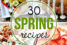 spring recipes
